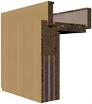 Polodrářkové akustické dveře 38 db